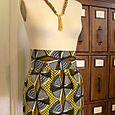 High Waist African Skirt