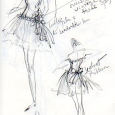 Original Dance Dress Sketch