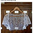French Chantilly Lace Shrug