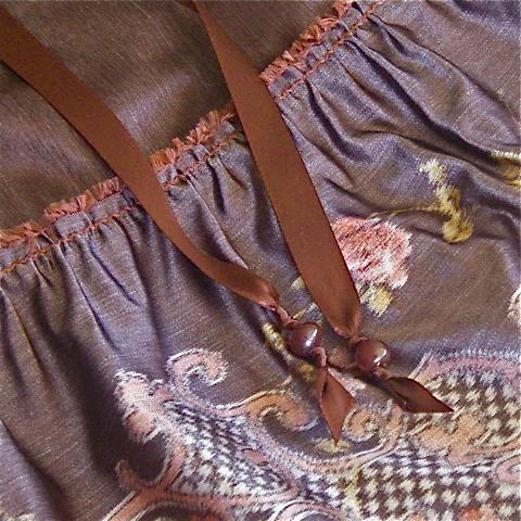 Luxe Bohenian Skirt Detail