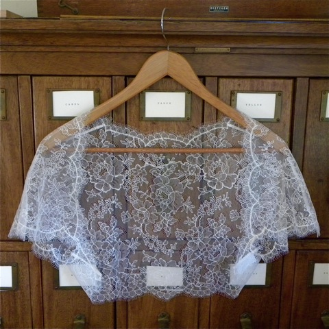 Chantilly Wedding Shrug