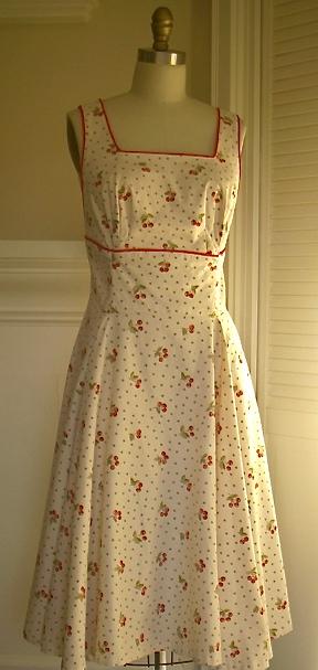 Fifties Cherry Dress