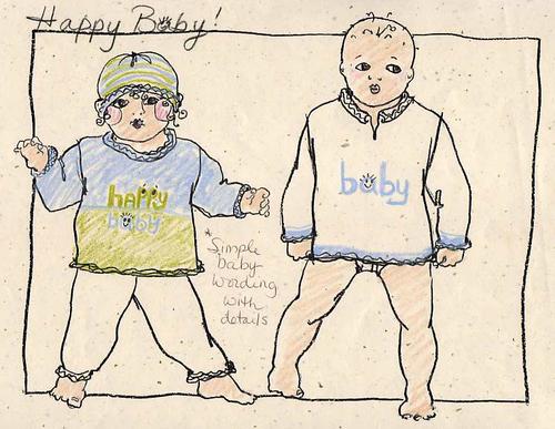 Happy Baby Sketch