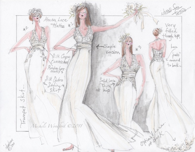 Wedding Gown Ideas for Custom Gown