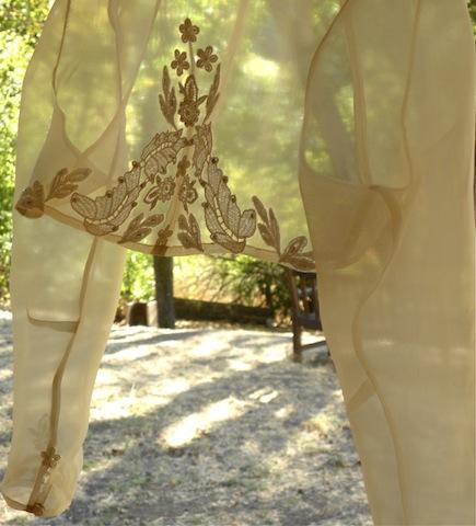Sheer Bridal Jacket