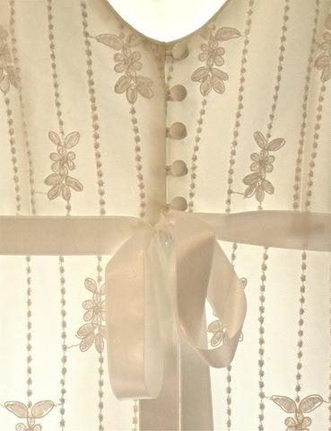 Romantic Venise Lace Wedding Dress Back Detail